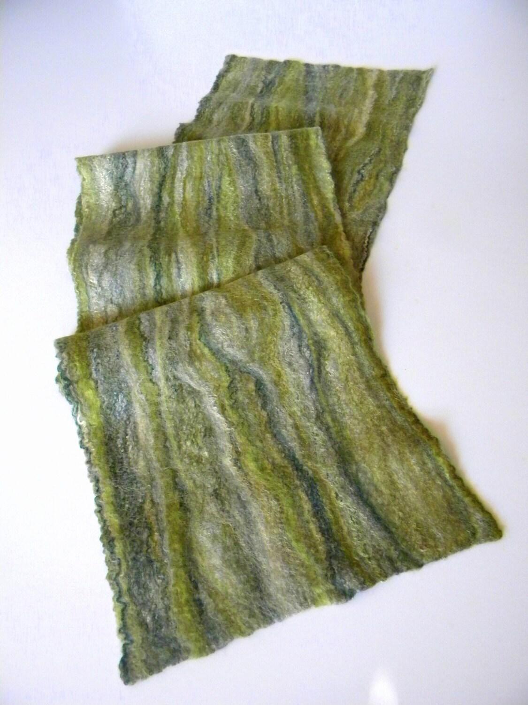felted wool scarf felting scarves scotland scarf handmade