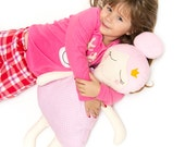 Dreamy Princess Doll Cushion Pillow Stuffed Toy Nursery Decor