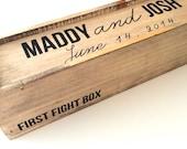 Wedding wine box, first fight box, wine box