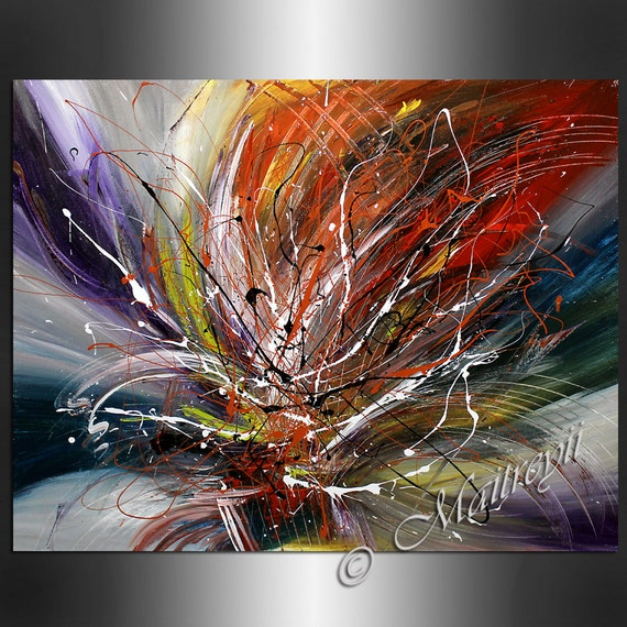 Art painting abstract large artwork paintings by largeartwork - Toile de peinture pas cher ...