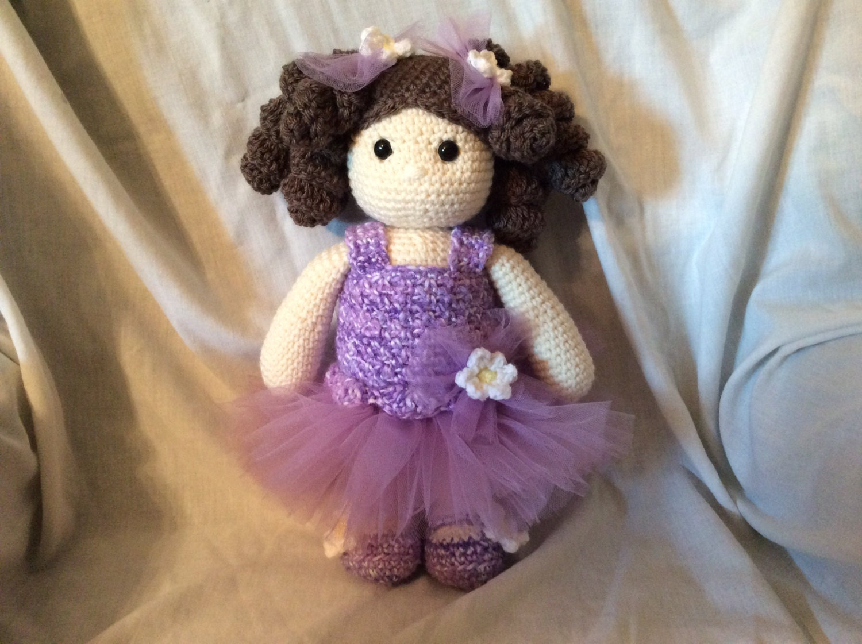 Amigurumi Ballerina Doll : Crochet Ballerina Doll PATTERN amigurumi doll pattern doll