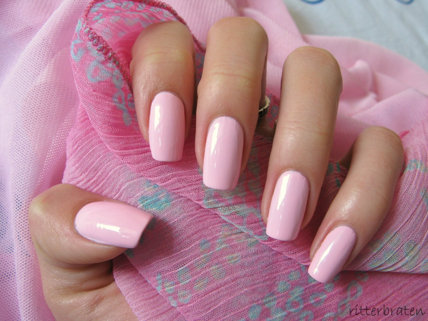 Baby Pink Pedicure | www.imgkid.com - The Image Kid Has It!