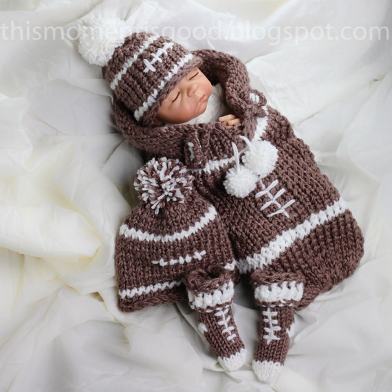 Free Knitting Pattern Baby Cocoon And Hat : Loom Knit newborn cocoon PATTERN loom knit hat pattern loom