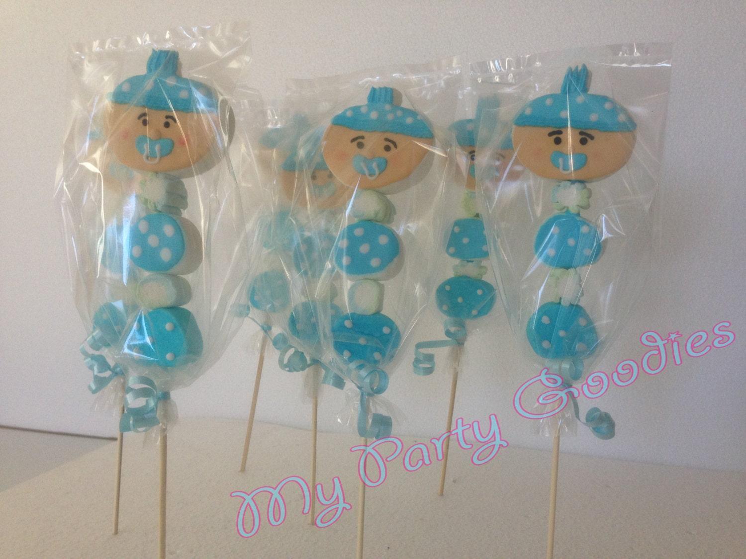 to baby shower marshmallow pops baby shower favor boy baby shower