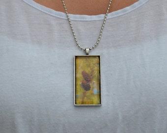 Pinecones necklace