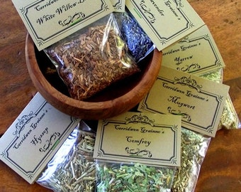 MEADOWSWEET Herb, Magickal, Witches Apothecary, Incense, Spell Casting, Herbal Potion, Pagan, Witch Alchemy, Wiccan, Spiritual