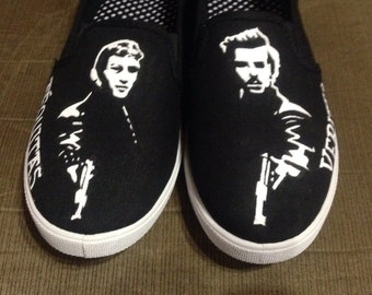 Custom - Boondock Saints Hand Painted Shoes