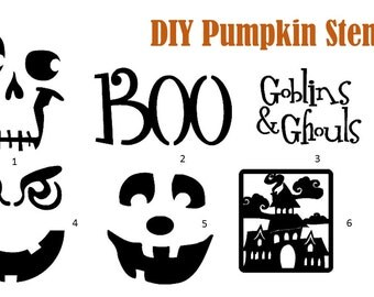 DIY Pumpkin Decals   ~
