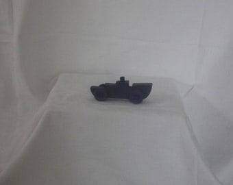 wooden push toy, boat