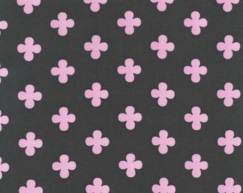 Premium cotton fabric by the yard, quilting cotton, quatrefoil fabric by Paula Prass for Michael Miller. Need more fabric yardage? Just ask