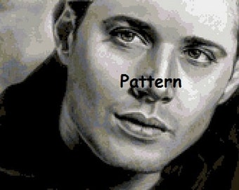 Dean Winchester #1. Supernatural. Cross Stitch Kit.