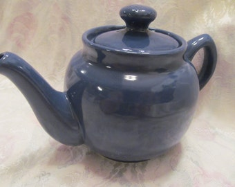 Petite  Blue  Tea Pot