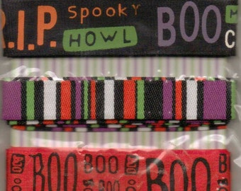 Bo Bunny FRIGHT NIGHT Ribbon