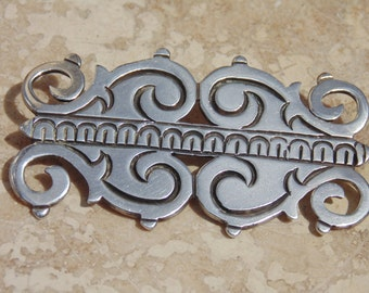 Rafael Melendez ~ Vintage 980 Silver Brooch from Taxco  / Pre-Eagle