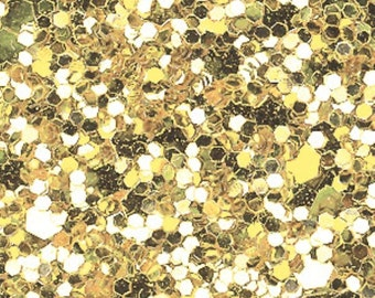 Glitter Fabric. Pale Gold. A4 sheet. JR04959