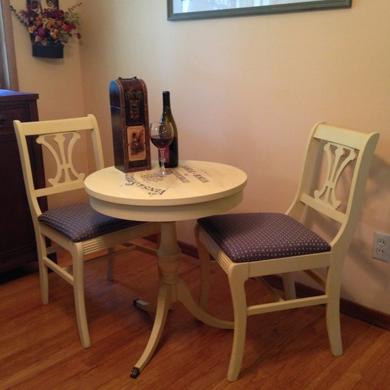 sold vintage french bistro table and chairs sold