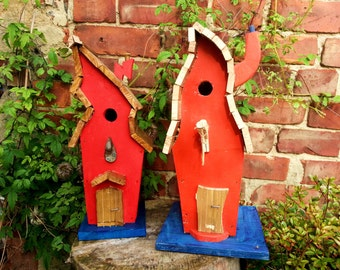 Wacky Funky Bird House