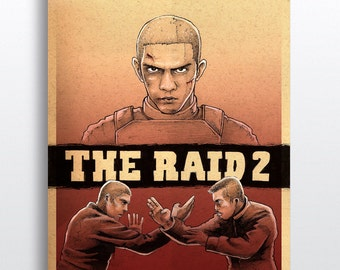 The Raid 2 - Illustrated Giclee Print