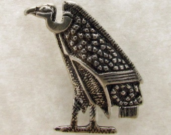 Egyptian Vulture Pendant No. 1 - C628