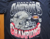 Vintage Dallas Cowboys NFL 1995 Champions Super Bowl XXX