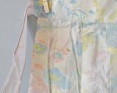 Vintage 50's Pastel Floral Apron
