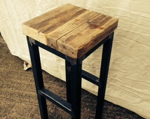 Unique Wooden Stool Related Items Etsy