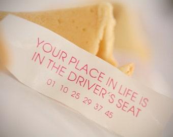 Fortune cookies