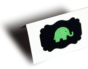 Handmade Elephant Baby card - the perfect blank card for your gift!