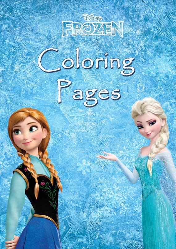 - Coloring Books And Drawing: Mini Coloring Book, Disney Frozen Coloring  Pages, Printable Decorative