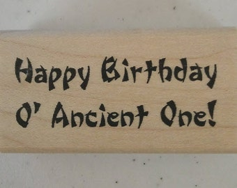 Ancient One Rubber Stamp - 28W01