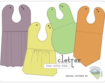 Cletter Collection of Nifty Baby Bibs Pattern