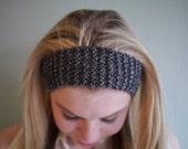 small grey headband