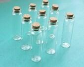 20pcs 22x70mm Empty Glass Vials. Glass Bottles. Mini Glass Bottles. Glass Vials With Cork. Tiny Bottle. Small Glass Jar. Small Cork.