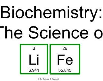 Biochemistry the majors