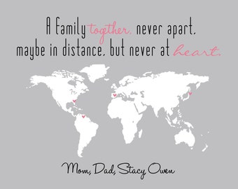 quotes about family and distance quotesgram