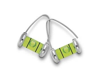 Large Level Wishbone Earrings