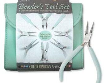 Beader's Tool Kit - Aqua