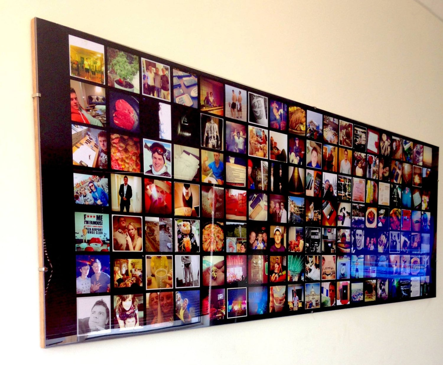 Instagram Collage Picture Frame Photo Quality 40 Inches