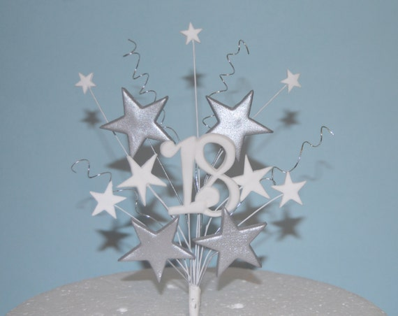How To Make Star Cake Toppers On Wires