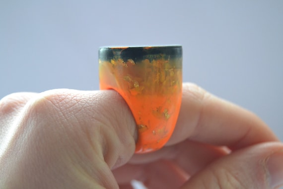 Etsy cocktail ring from Norlandic Design