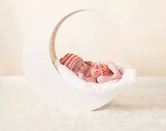 Long tail Elf hat Newborn Photography Prop