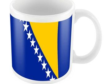Bosnia Road To World Cup Ceramic Mug Gift Birthday Present Novelty Brasil 2014