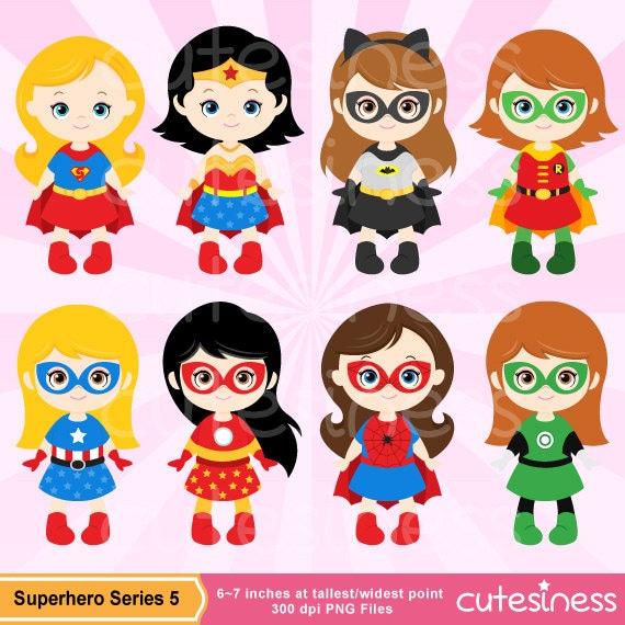 Clip Art Supergirl Clipart supergirl clipart etsy superhero girl digital clipart