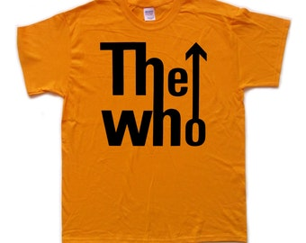 THE WHO screenprinted T SHIRT