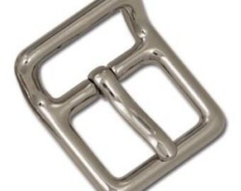 "Linden Strap Buckle 5/8"" Nickel Plate 11402-01"