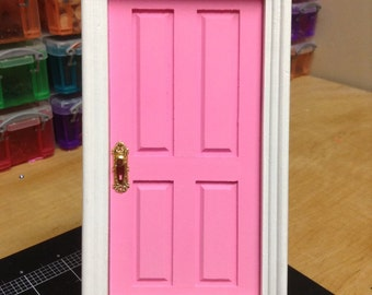 Baby Pink Tooth Fairy Door Fairies Loose Tooth Fairy Realm Fairy Dust