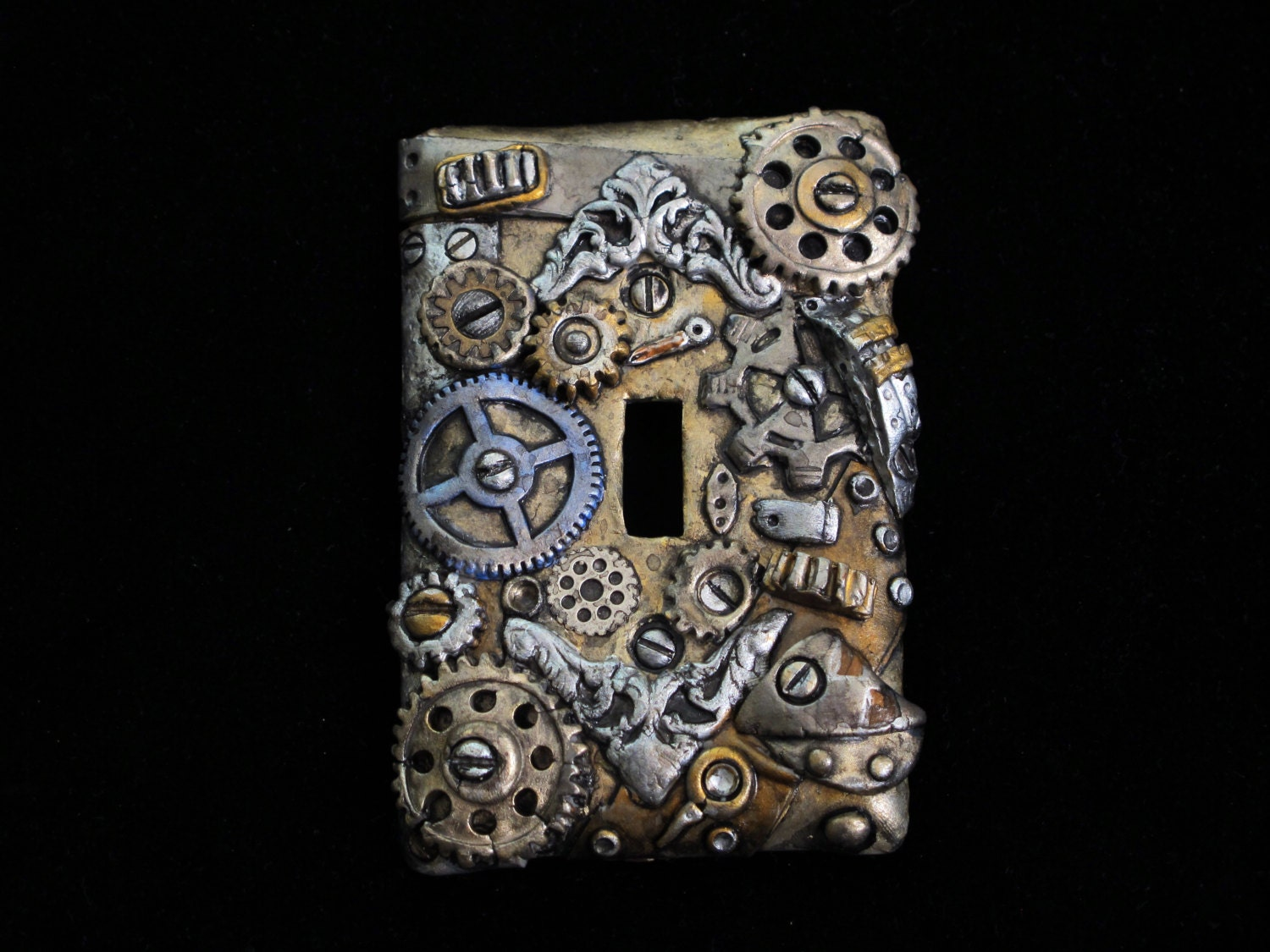 Unique Steampunk Light Switch Cover Add A Touch Of Steampunk