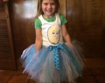 Frozen Elsa tutu costume