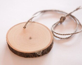"6 tags slices 3"" , wooden slices, rustic wedding decoration,  rustic wood discs for wedding"