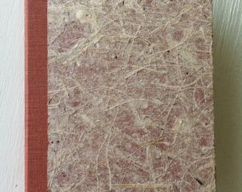 Rust & Tan Fiber Handbound Journal